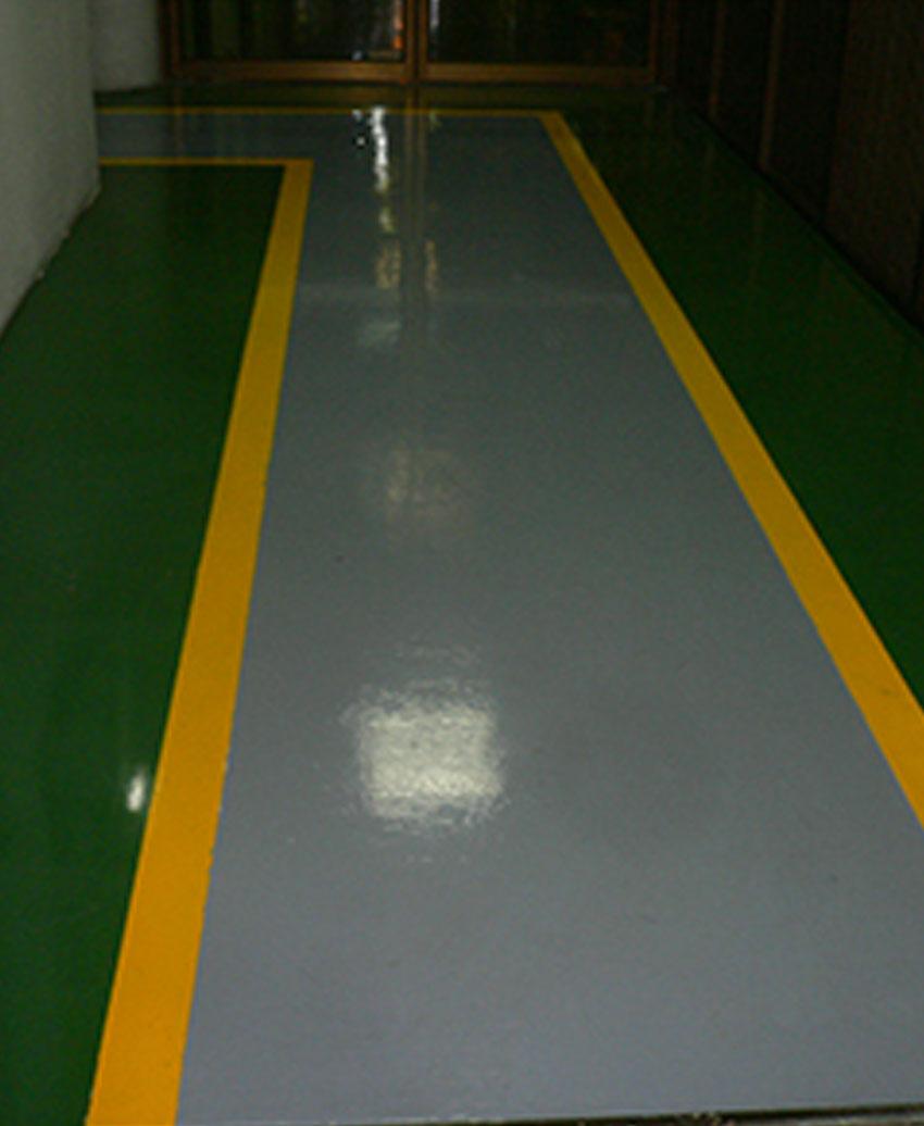 Color epoxy floor
